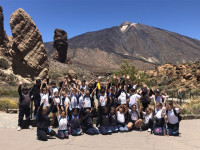 Year 4 school trip to Teide