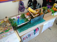 Year 5 did a great job of designing their own Water park