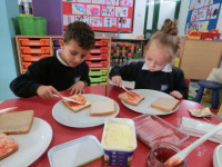 Reception class cafe days