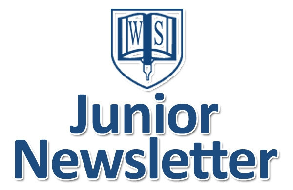 Junior Newsletter Monday 4th of November 2019