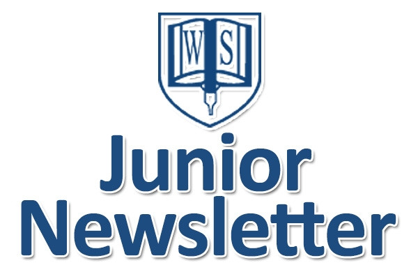 Junior Newsletter dated 31st of May 2018