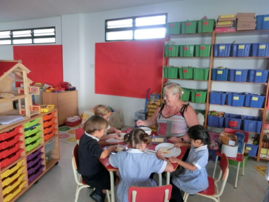 Reception Class Cafe Project